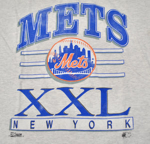 Vintage New York Mets 1992 Salem Sportswear Shirt Size X-Large