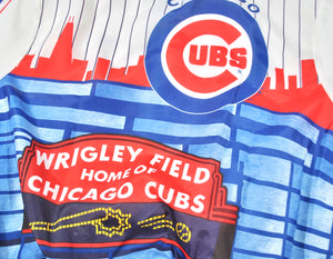 Vintage Chicago Cubs 1989 Chalk Line Jacket Size Large.