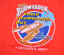 Vintage Budweiser 1982 The World Championship Race Shirt Size Medium(tall)