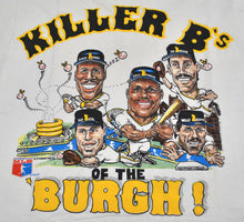 Vintage Pittsburgh Pirates 1988 Barry Bonds Bobby Bonilla Sid Bream Jay Bell Wally Backman Killer B's of the Burgh! Shirt Size Medium