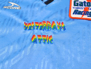 Vintage Yesterday's Attic Gatorade Racing Team Score Made in USA Soccer Jersey Size Medium