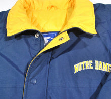 Vintage Notre Dame Fighting Irish Thick Starter Jacket Size Medium