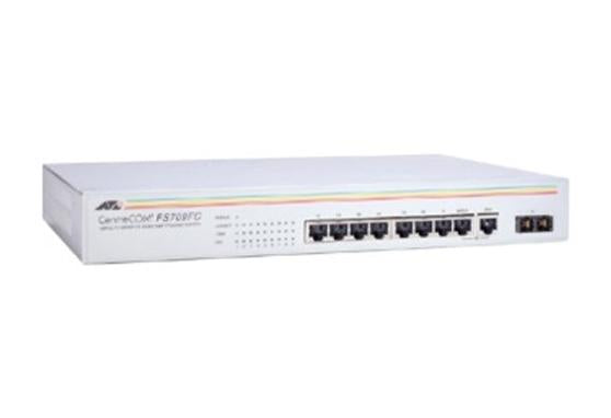 Allied Telesyn AT-FS709FC 8-Port 10/100TX Unmanaged Switch