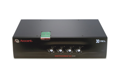 Avocent Switchview SC540 - KVM / audio switch - 4 ports
