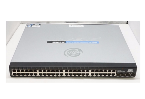 CISCO LINKSYS SRW2048 48-port Gigabit Managed Switch
