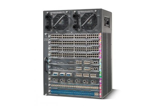 Cisco Catalyst 4507R-E , WSX4624-SFP-E, WS-4606-X2-E, WS-X4648-RJ45V+E plus more