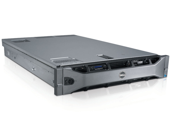 "Dell POWEREDGE R710 W/2 X INTEL X5670 CPU, 12GB, 3 X 73GB 2.5"" SAS , RAILS"