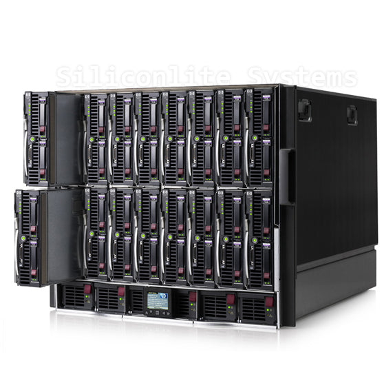 HP Full Blade System with 8 Nodes and Cisco Attachments