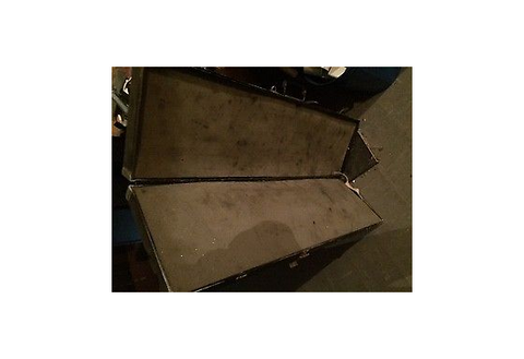 Industrial Metal case with Foam 46.7 Inch Long