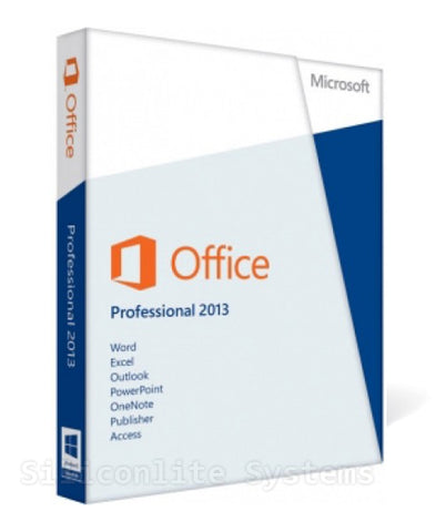 MICROSOFT 2013 OFFICE PROFESSIONAL - Brand new