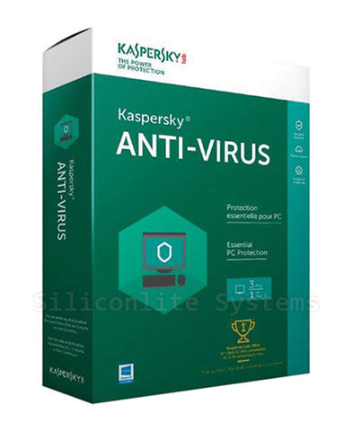 Kaspersky Anti-Virus 2016 - Brand New (3 User Pack)