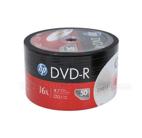 HP 50-Pack DVD-R | Model: DM00070B - 16x Speed - Brand New