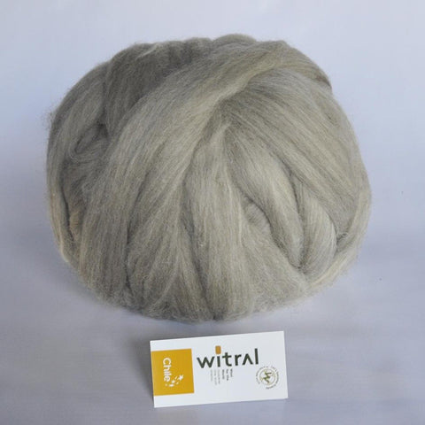 Vellón De Lana Corriedale Gris Natural - Witral