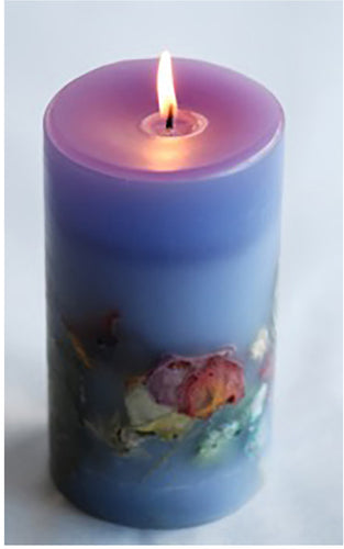 Cedar Lavender Botanical Candle - Goldenspirits Candle Works