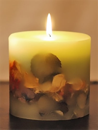 Oval Botanical Candle - Goldenspirits Candle Works