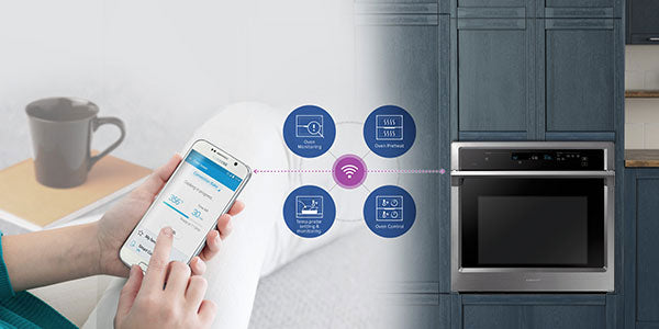 Built-in appliances wifi