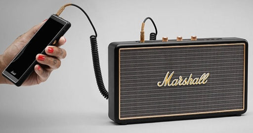 Marshall Stockwell - Portable Bluetooth speaker w/ case Black