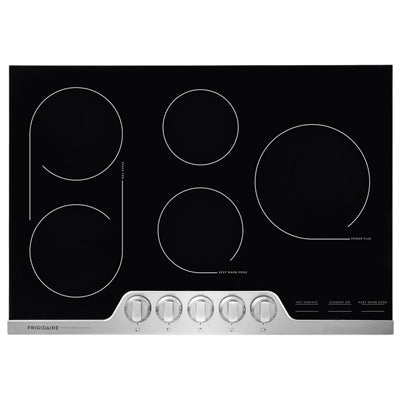 Frigidaire Professional FPEC3077RF 30'' Electric Cooktop - Stainless Steel - Smudge Proof - Cooktop - Frigidaire Professional - Topchoice Electronics