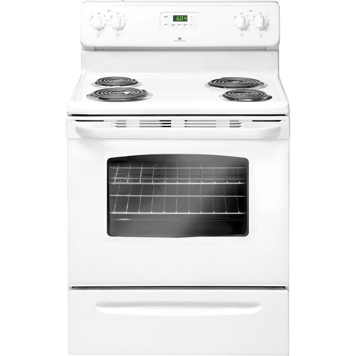 "GE JCBS280DTWW 30"" Free Standing Electric Standard Clean Range in White - Range - GE - Topchoice Electronics"