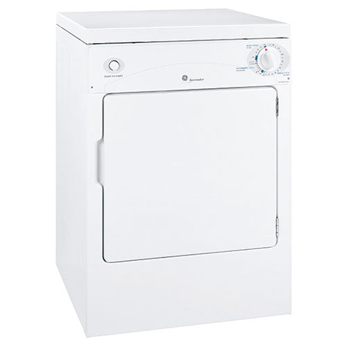 "GE PSKP333EBWW 22.8"" Electric Dryer - White - Dryer - GE - Topchoice Electronics"
