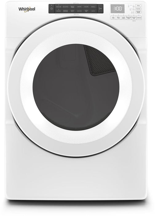 Whirlpool WGD5620HW 7.4 Cube Feet Front Load Gas Dryer With Intuitive Touch Controls In White