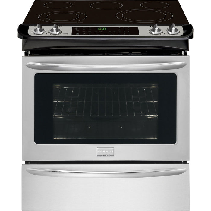 Frigidaire Gallery CGES3065PF 30'' Slide-In Electric Range - Stainless Steel - Smudge Proof - Range - Frigidaire Gallery - Topchoice Electronics