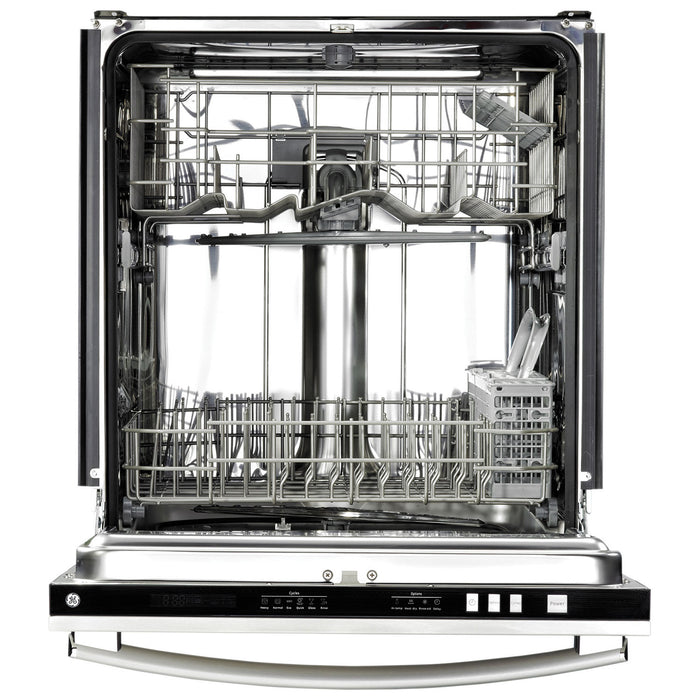 GE GDT696SSFSS 24-inch Built-In Tall Tub Dishwasher - Stainless Steel - Dishwasher - GE - Topchoice Electronics