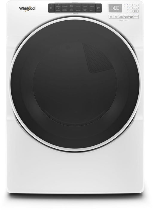 Whirlpool WGD6620HW 7.4 Cube Feet Front Load Gas Dryer with Steam Cycles In White