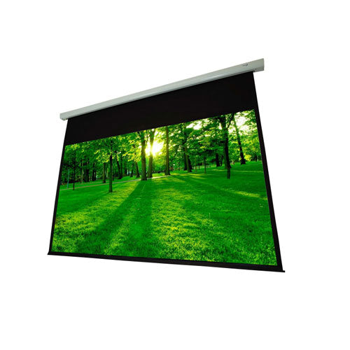 EluneVision Luna Motorized Non-Tension Projector Screen EV-E-109