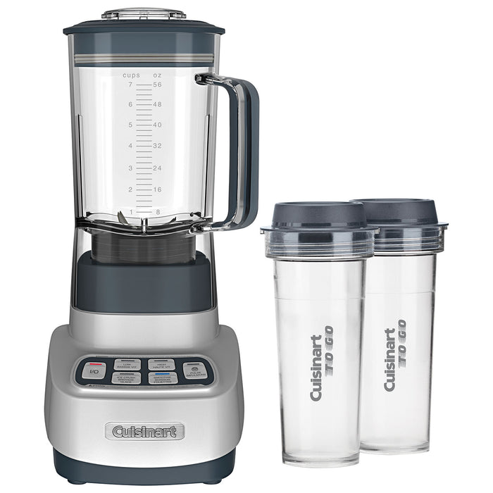 Cuisinart BTC-650C Velocity Ultra Trio 1.5L 750-Watt 1-HP Duet Blender With Travel Cups