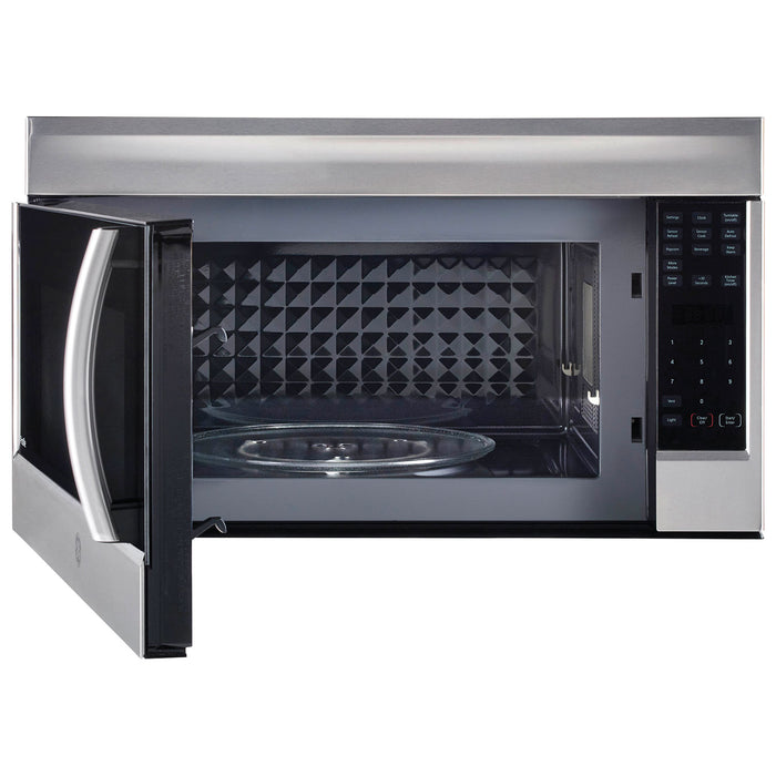 GE PROFILE PVM2155SHC 2.1 Cu. Ft. SpaceMaker Over-The-Range Microwave - Stainless Steel - Microwaves - GE Profile - Topchoice Electronics