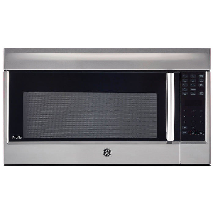 GE PROFILE PVM1899SJC 1.8 CU FT OVER THE RANGE CONVECTION MICROWAVE OVEN - Stainless Steel - Microwaves - GE Profile - Topchoice Electronics