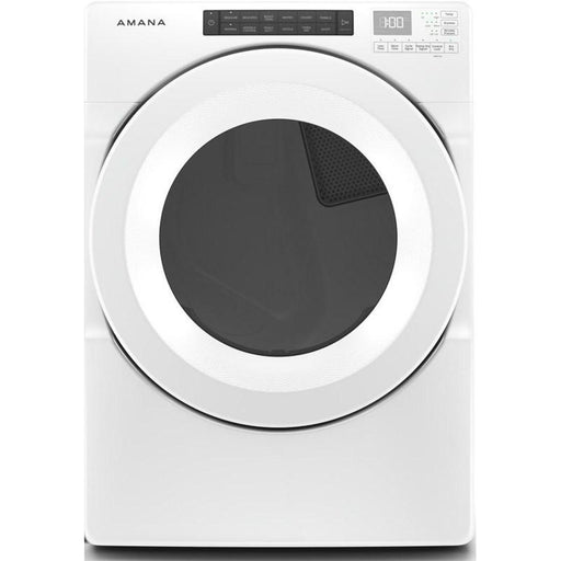 Amana NGD5800HW 7.4 Cube Feet Gas Dryer In White