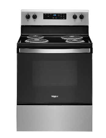 Whirlpool YWFC315S0JS 4.8 cu. ft. Electric Range in Stainless Steel