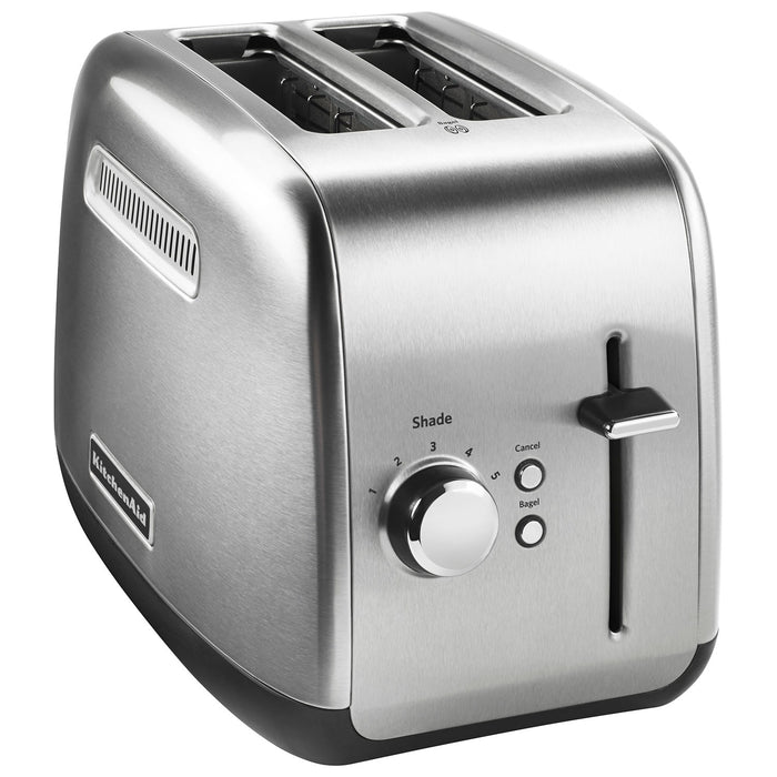 KitchenAid KMT2115SX Toaster - 2-Slice - Brushed Stainless Steel - Toasters - KitchenAid - Topchoice Electronics