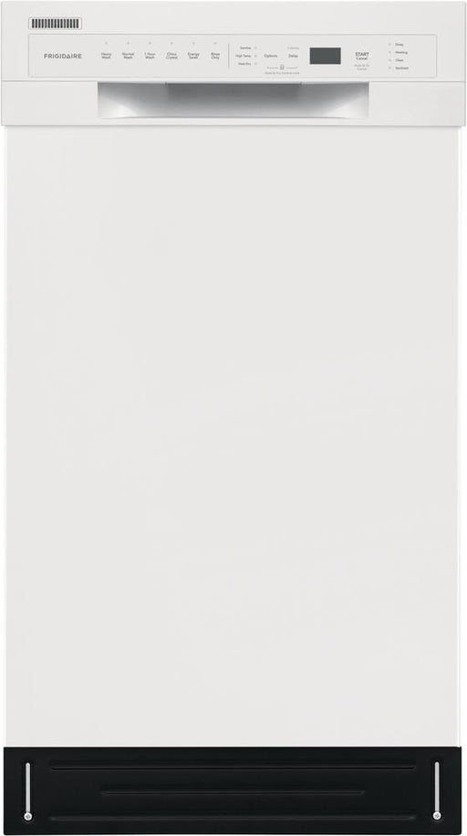 Frigidaire FFBD1831UW 18-Inch Built-In Dishwasher In White