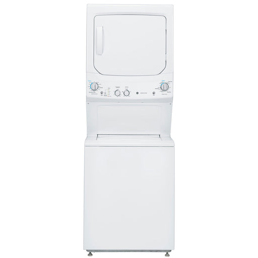 GE GUD27ESMMWW 5.9 Cu. Ft. Electric Washer & Dryer Laundry Centre - White - Laundry Pair - GE - Topchoice Electronics