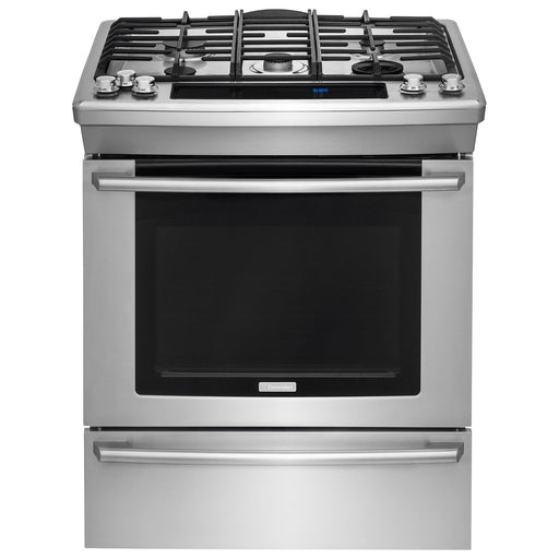 Electrolux EW30DS8CRS 30'' Dual-Fuel Built-In Range with Wave-Touch® Controls - Stainless Steel - Cooking Range - Electrolux - Topchoice Electronics