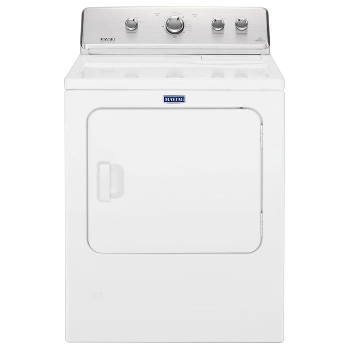 Maytag YMEDC465HW 7.0 Cu. Ft. Electric Dryer - White - Dryer - Maytag - Topchoice Electronics