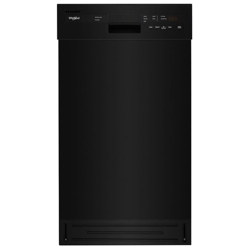 "Whirlpool 18"" 50dB Built-In Dishwasher with Stainless Steel Tub"