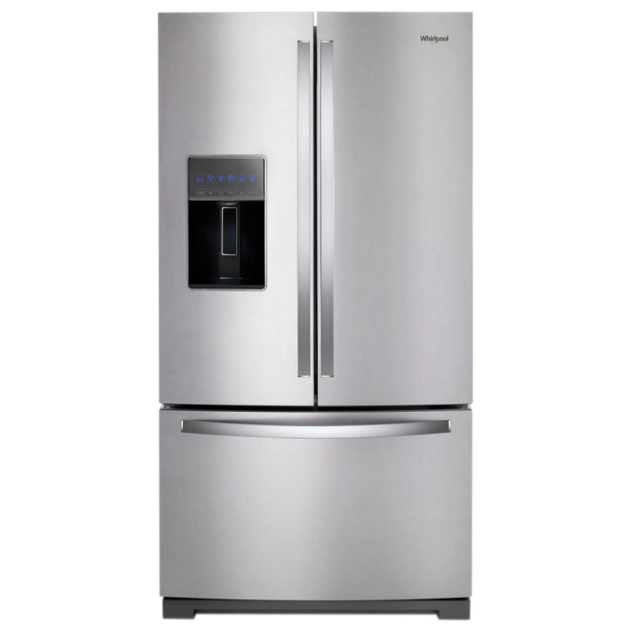 "Whirlpool 36"" 26.8 Cu. Ft. French Door Refrigerator - Refrigerator - Whirlpool - Topchoice Electronics"