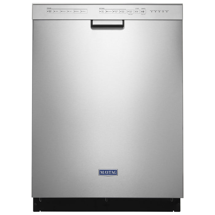 "Maytag 24"" 50dB Built-In Dishwasher with Stainless Steel Tub"