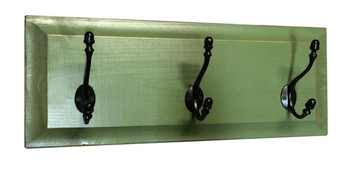TCSW-192 Panel Coat Rack (3-Hook)