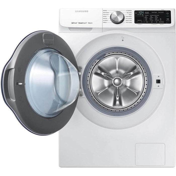 Samsung DV22N6800HW/AC 4.0 cu.ft. Electric Heat Pump Dryer in White