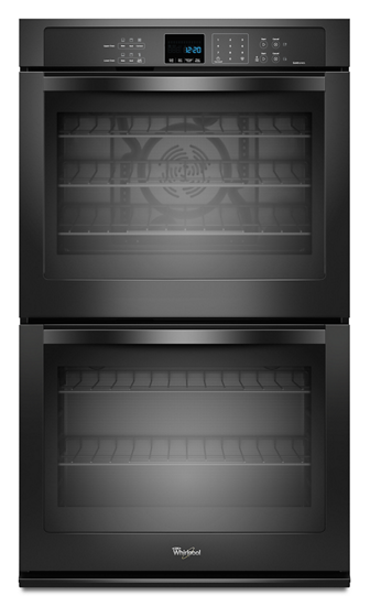 "Whirlpool 30"" Built-In Double Electric Convection Wall Oven"