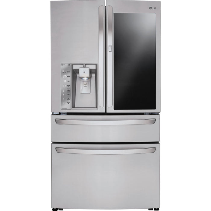 LG LMXS30796S 30 cu. ft. Smart wi-fi Enabled InstaView™ Door-in-Door® Refrigerator in Stainless Steel