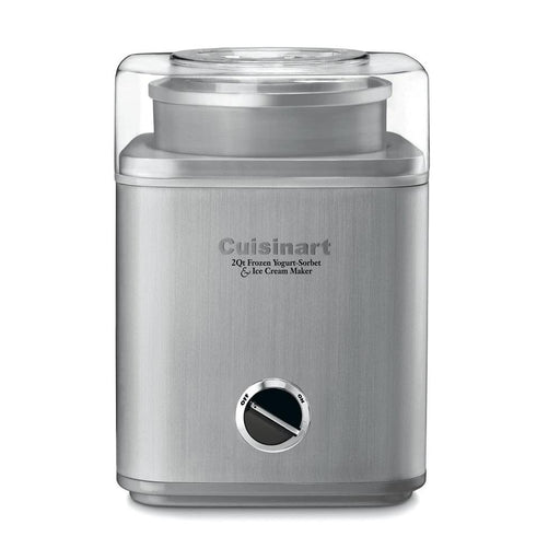 Cuisinart Pure Indulgence Frozen Yogurt-Ice Cream Maker, 2-Qt, Silver (ICE-30BC)