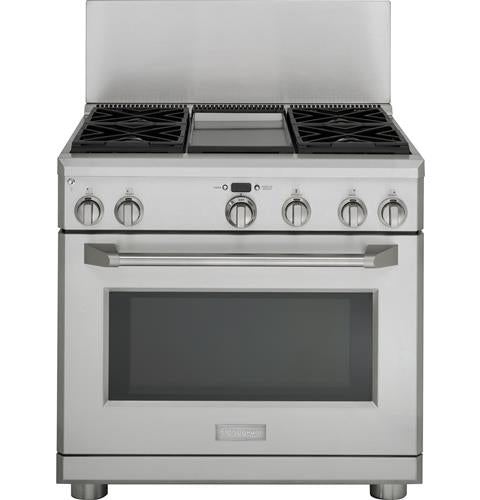 Monogram ZX12B36PSS 12-Inch Stainless Steel Professional Backsplash