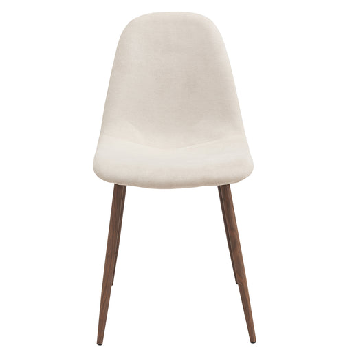 World Wide 202-250BG Lyna Side Chair, set of 4 in Beige