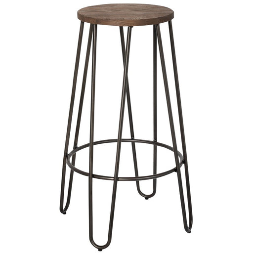 Worldwide 203-235 26 Inch Revo Counter Stool in Black (4PCS)